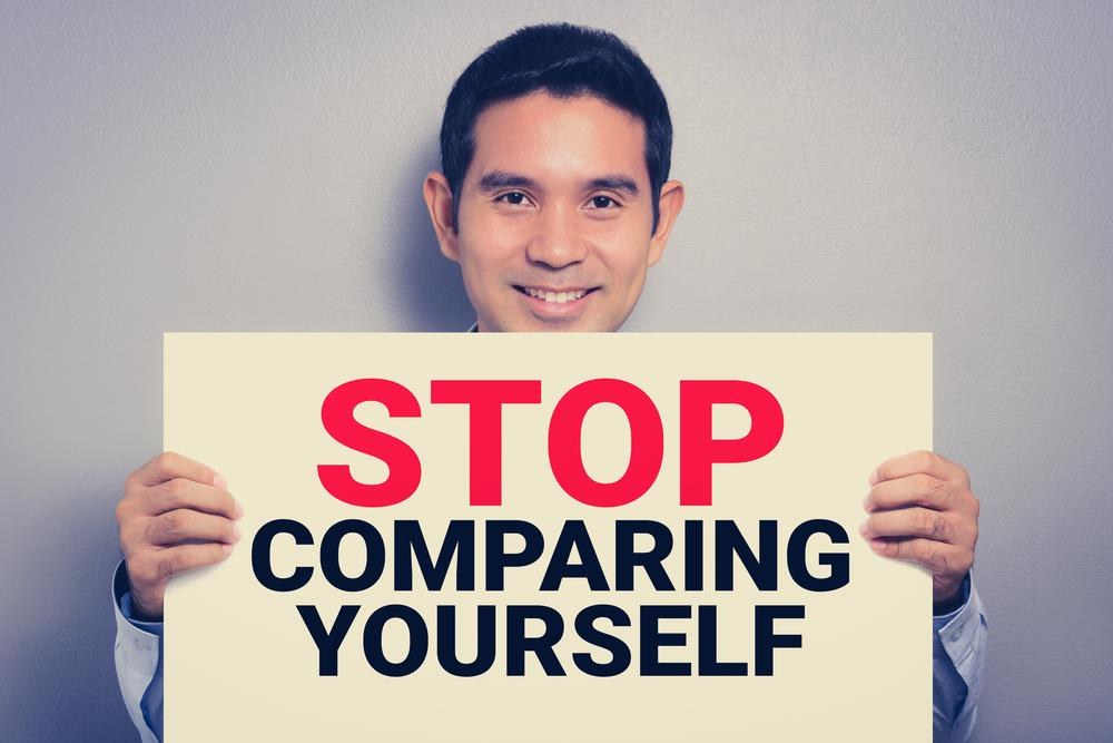 Compare Yourself to No One