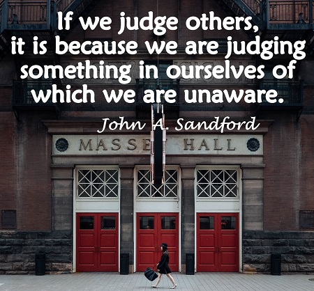 Judging Others front